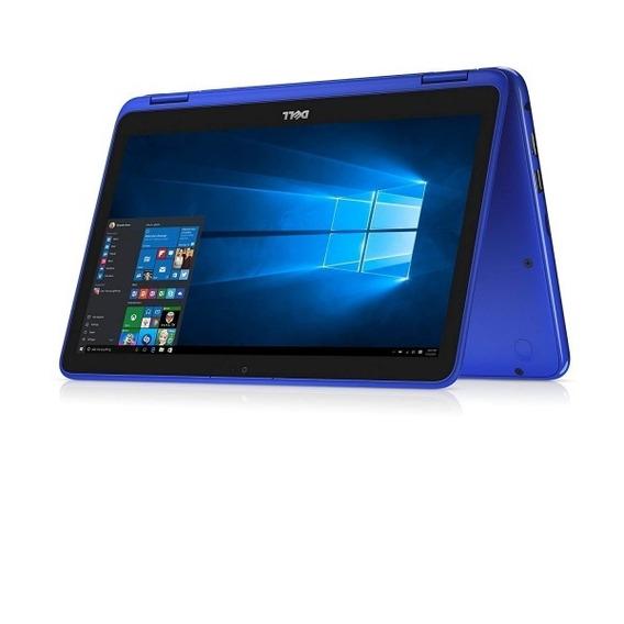 Notebook Dell I11-3179bl M3/4gb/500hd/11p/w10/x360 Blue