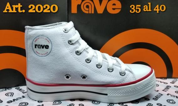 Zapatillas Con Plataforma Rave