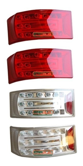 Conjunto De 4 Lanternas Traseira Comil Campione 2011