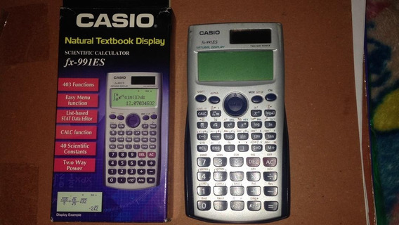 Calculadora Casio Fx-991 Es