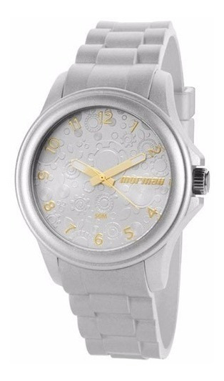 Relógio Mormaii Feminino Mo2035az/8k Prata Analogico
