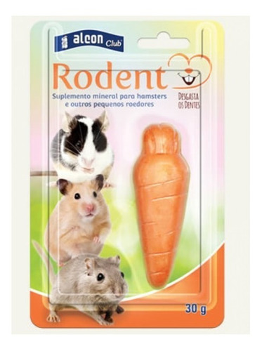 Rodent Suplemento Mineral Para Roedores