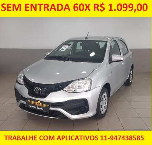 Toyota Etios 1.3 X 2019 Completo