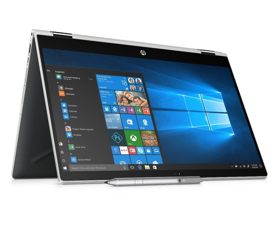 Notebook Hp Touch X360 15-cr0003la I5 8gb 1tb Win10 Cuotas