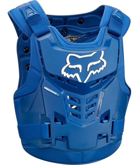 Pechera Fox Proframe Lc Blue Azul Atv Enduro Mx Marelli