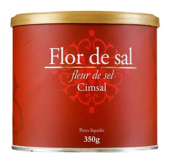 Flor De Sal Cimsal - (caixa Com 18x350g)