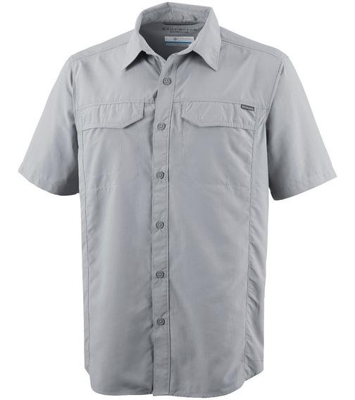 Camisa Trekking Hombre Columbia Silver Ridge Manga Corta