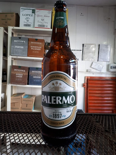 Cerveza Palermo Botella Litro Retornablel! Floresta, Caba