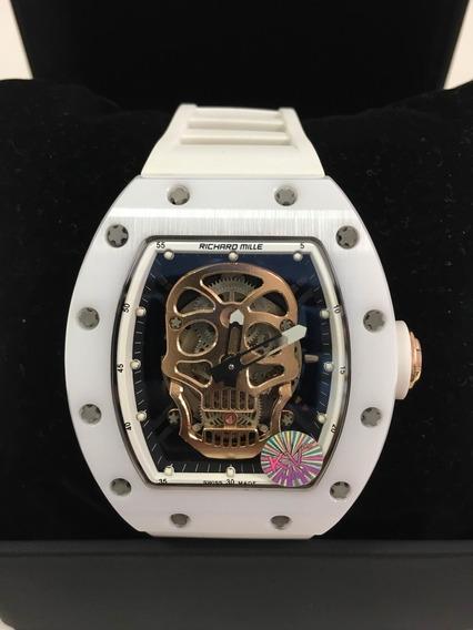 Relógios Richard Miller Skull Caveira