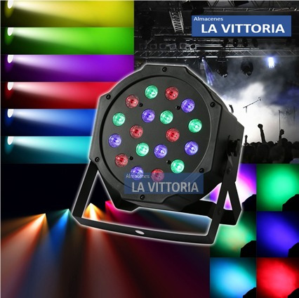 Luminario Luz Led Disco Audioritmico Bar Fiesta