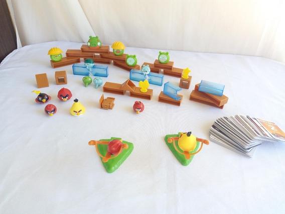 Jogo Angry Birds Com Varios Personagens E Peças - O Lote
