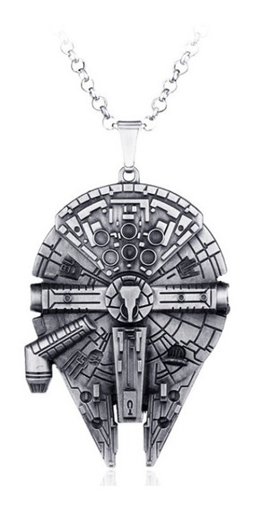 Colar Millenium Falcon Star Wars Nave Han Solo