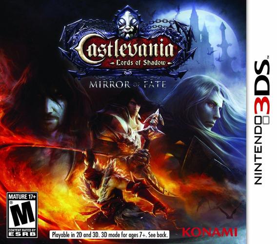 Jogo Castlevania Mirror Of Fate Nintendo 3ds Frete Grátis