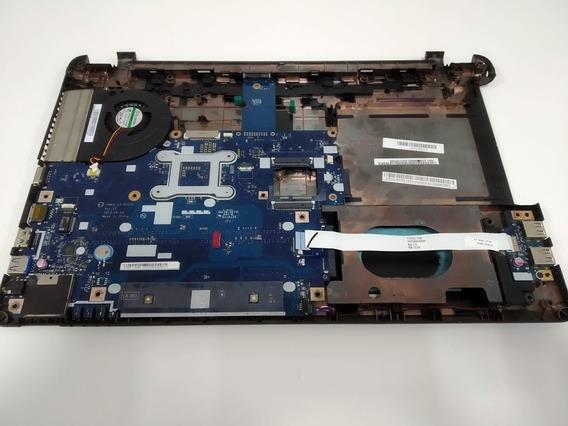 Carcaça Base Inferior Notebook Acer E1-572-6_br648 C/placa