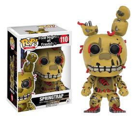 Five Nights At Freddy Boneco Pop Funko Springtrap #110 Fnaf