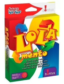 Lola Mento - Juego De Cartas Bontus Similar Uno Jodete