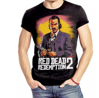 Camiseta Red Dead Redemption 2 Dutch Van Der Stamp For All