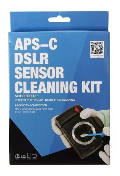 Kit De Limpeza Do Sensor Aps-c Dslr Sensor Cleaning Kit