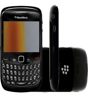 Blackberry Curve 8520, 256mb Single 2g Mp3 Preto Vitrine 2