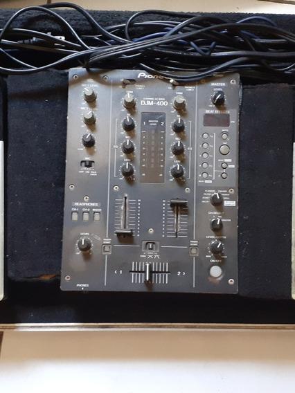 Cdj 400 Da Pioneer Com.mix E Case.