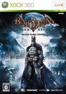 Juegos,batman Arkham Asylum Importación Japonesa