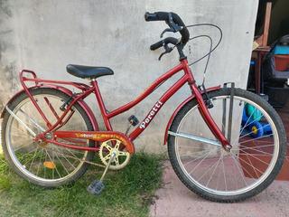 Bicicleta Playera Nena Rod 26