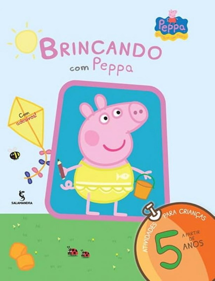 Brincando Com Peppa - Atividades Para Crianças A Partir De