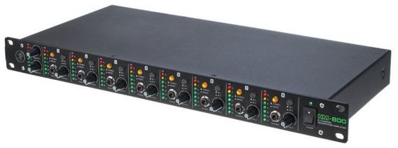 Amplificador De Fone Mackie Hm-800 Original C/ Garantia E Nf