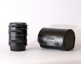 Conj. Tubos Extensão P/ Macro Vivitar - Nikon