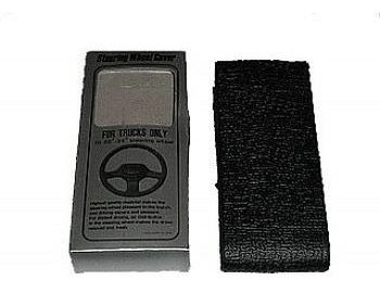 Cubre Volante Universal Negro Grande 56