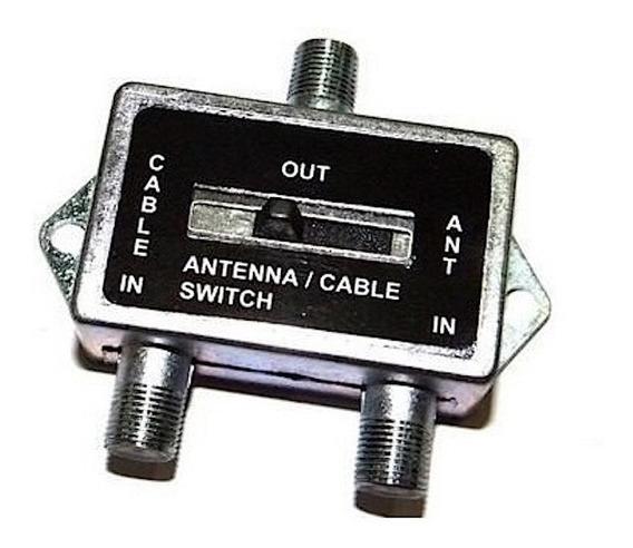 Chave Comutadora Divisora Seletora A+b Conector F 75