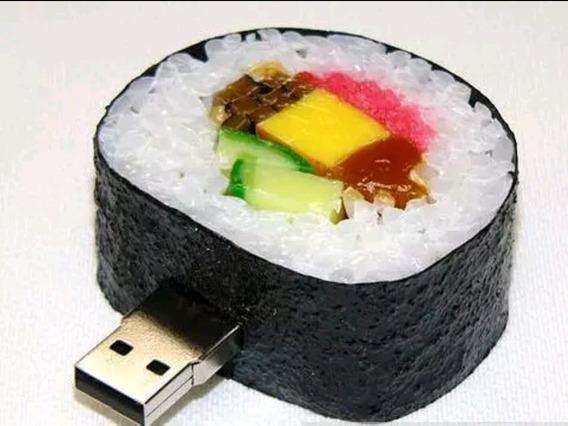 Pen Drive 32gb Sushi Japonês Comida Japonesa Saudável 32 Gb