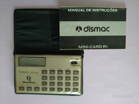 Calculadora Dismac Mini Card