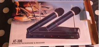 Micrófono Inalámbrico 2~~ Nuevos ~~ Se Pueden Probar