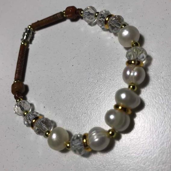 Pulseras De Perlas Reales