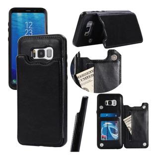 Capa Couro iPhone 7 / 6s Porta Cartão Preta Ou Marrom