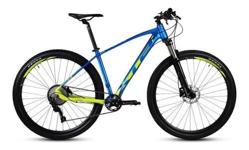 """Imagen 1 de 5 de Mountain bike Alubike MTB XTA 2.0 R29 16"""" 10v frenos de disco hidráulico cambio Shimano Deore M6000 color space blue"""
