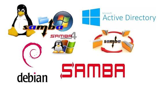 Servidor De Arquivo E Controle De Domínio Samba4-virtualbox