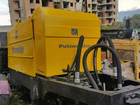 Bomba De Concreto Putzmeister 80 M3 Hora Motor Deutz
