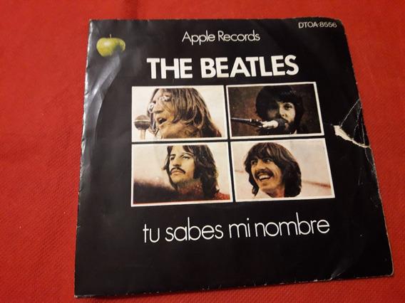 Dejalo Ser Los Beatles Solo Tapa Original Del Vinilo Simple