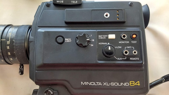 Camera S8 Minolta Xl-sound 84