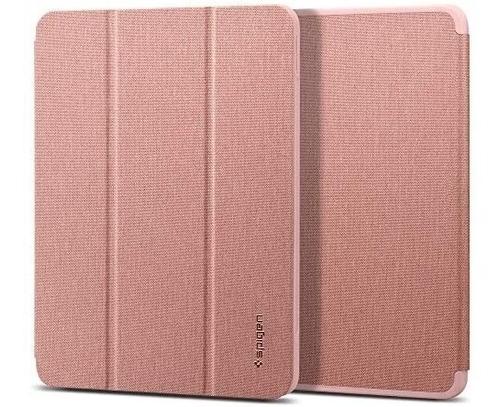 Imagen 1 de 6 de Funda Spigen Urban Fit iPad Air 4th 10.9 Pencil Holder Rosa