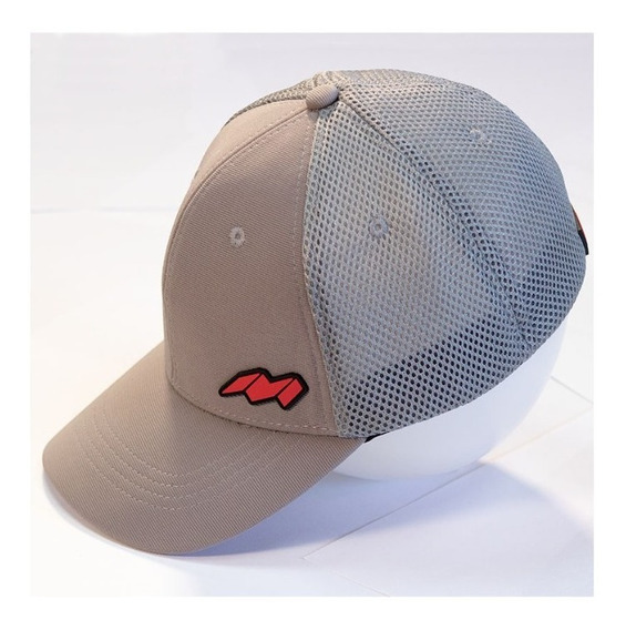 Gorra Cachucha Trucker Marca Mirage 3 Color Gris