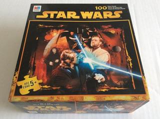 Star Wars Obi Wan Kenobi - Rompecabezas Mb 100 Piezas