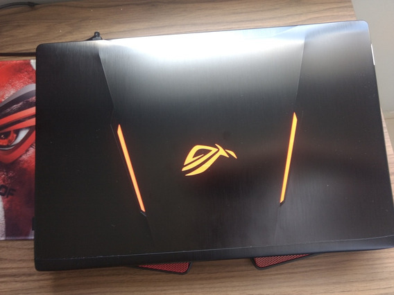 Notebook Asus Gamer Rog Strix Gl553v Intel Core I7 16gb