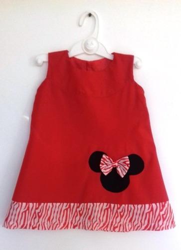 Vestidos Para Niña Minnie Talla 2 Y Talla 3