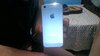 Celular iPhone 5s Prata 32gb Funcionando (leia Descrição)