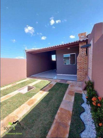 Casa Com 2 Dormitórios À Venda, 89 M² Por R$ 149.000,00 - Pedras - Fortaleza/ce - Ca0464