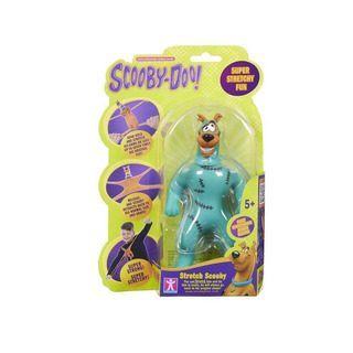Mini Scooby Doo! Strech Super Flexible Muñeco Que Se Estira