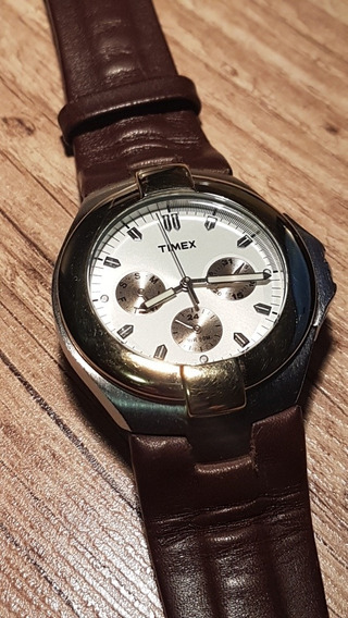 Relógio Timex - 40 Mm Multifuncional - Made In Japan